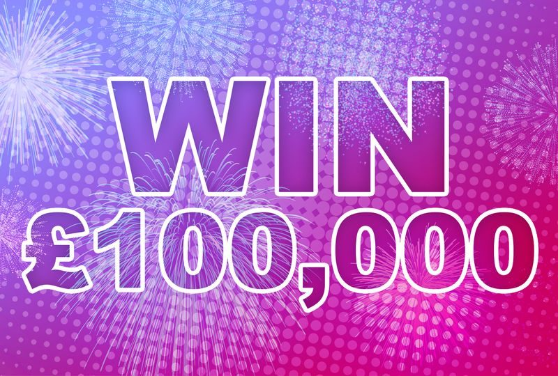 Win £100,000 cash from Planet Radio
