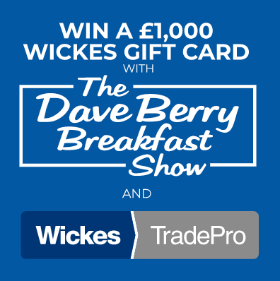 Win a £1000 Wickes Gift Card from Planet Radio