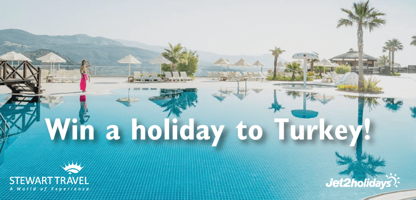 Win a holiday to Turkey from Stewart Travel