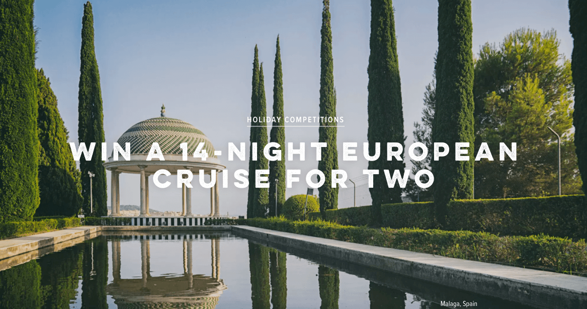 Win a 14-night European Cruise from Condé Nast Traveller