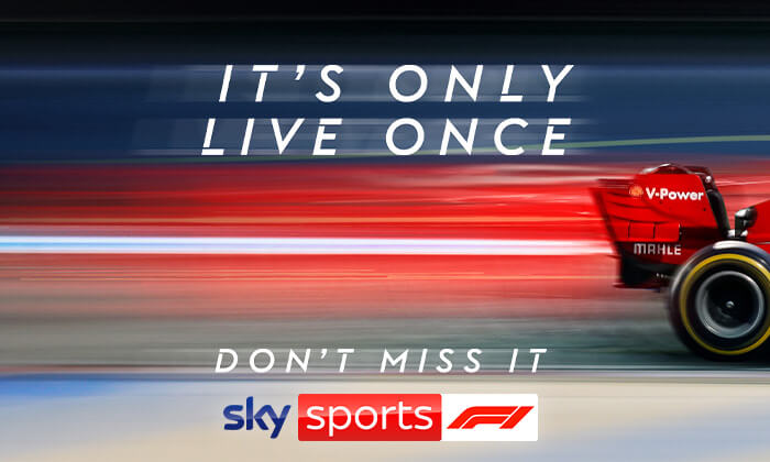 Win exclusive F1 prizes From Virgin Radio & Sky sports