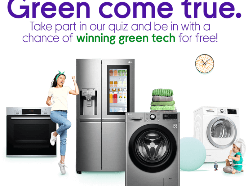 Win green appliances from Currys PC World